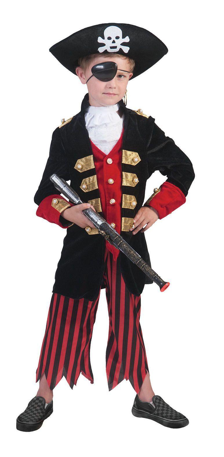Piraat Stylo Star Kostuum Jongen