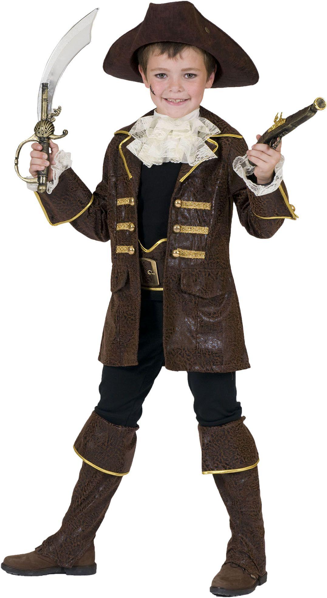 Piraat Pecunia Kostuum Jongen
