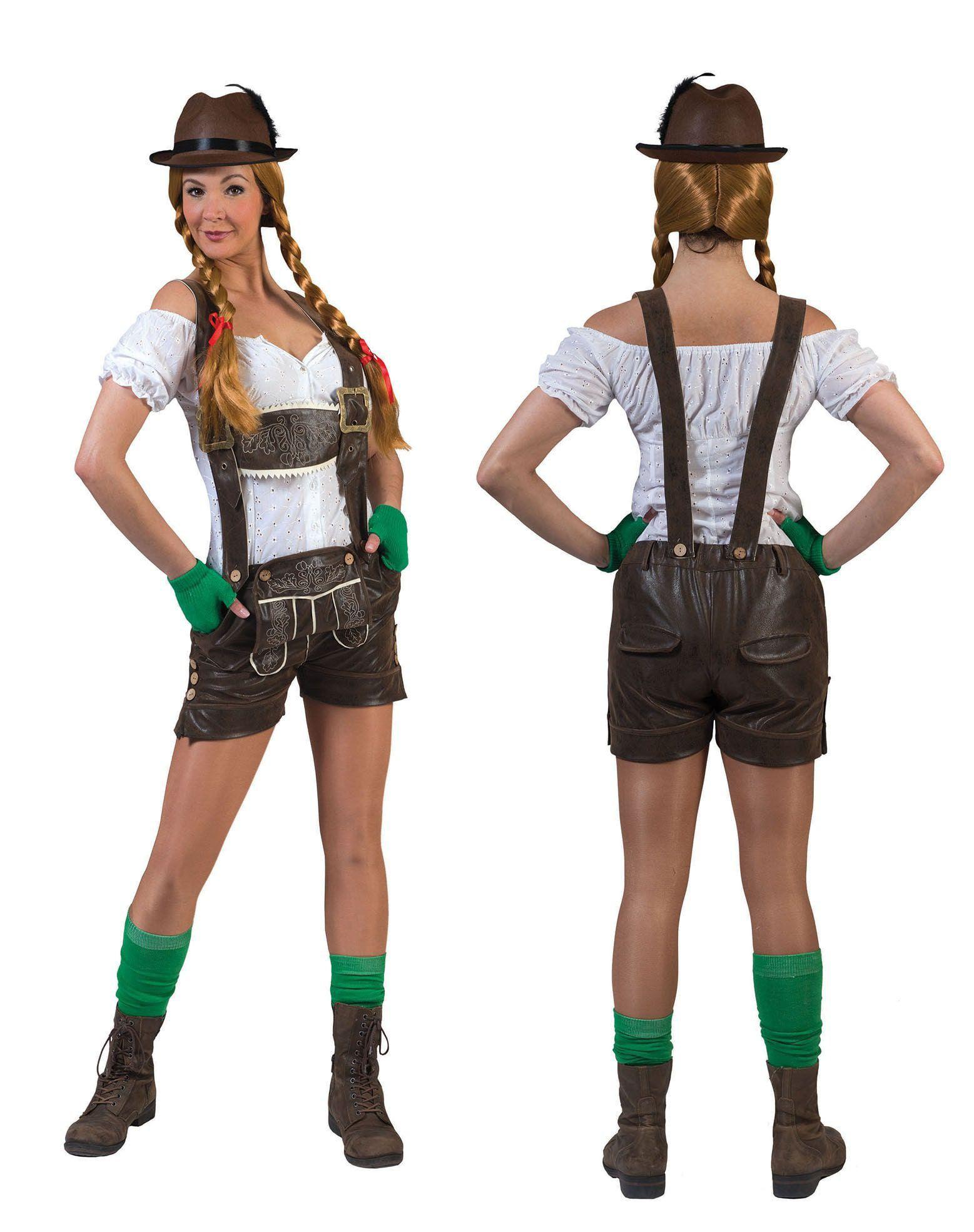 Kaiserkopf Oktoberfest Shorts Vrouw Kostuum