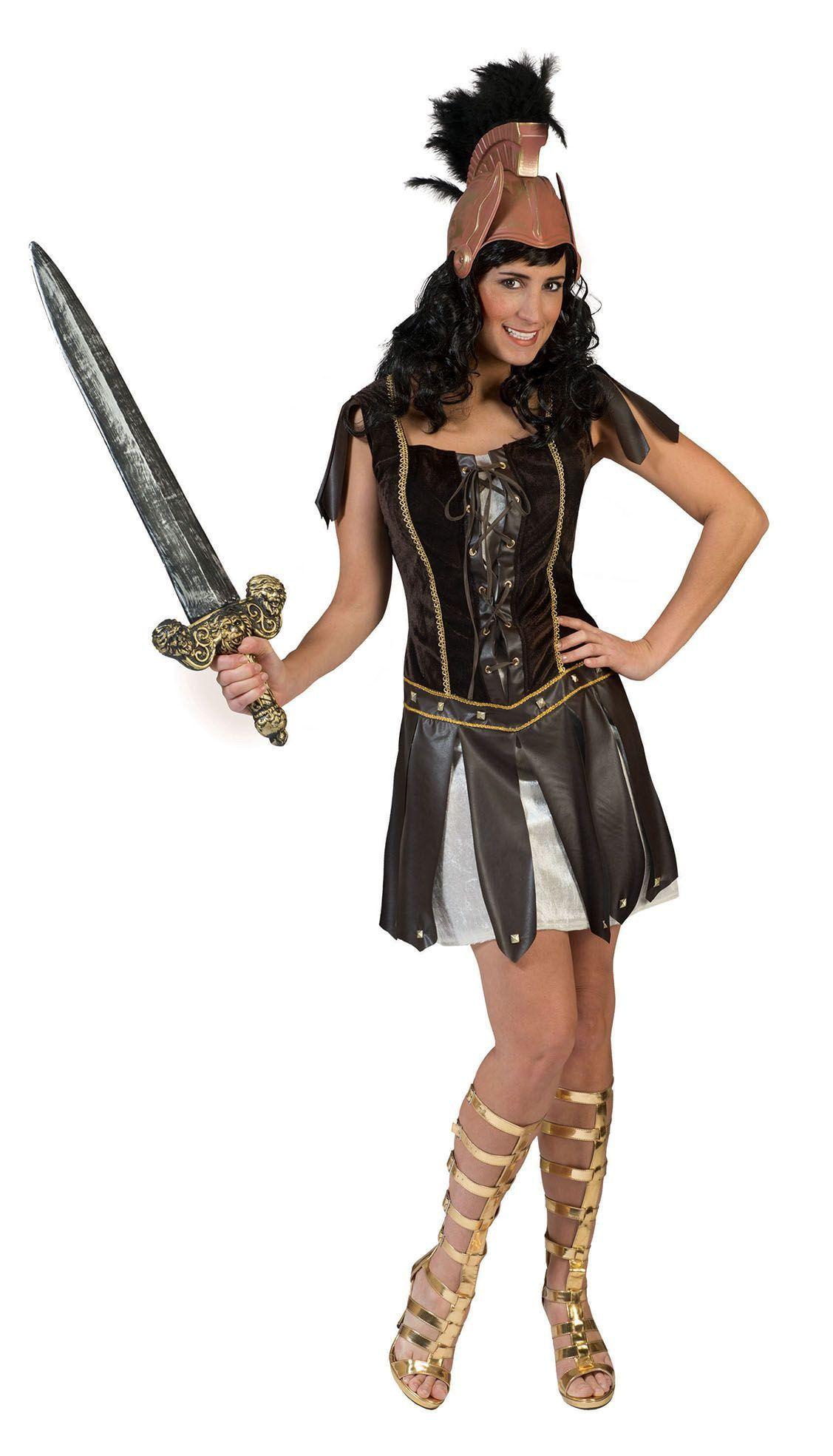 Trojana De Romeinse Strijdster Vrouw Kostuum
