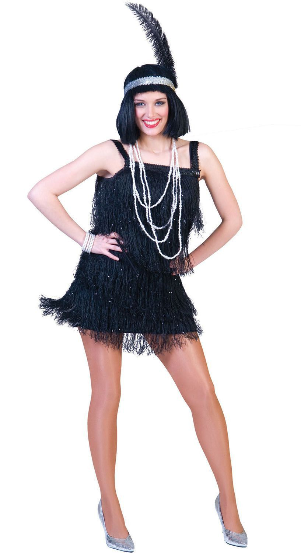 Fannie De Flapper Vrouw Kostuum