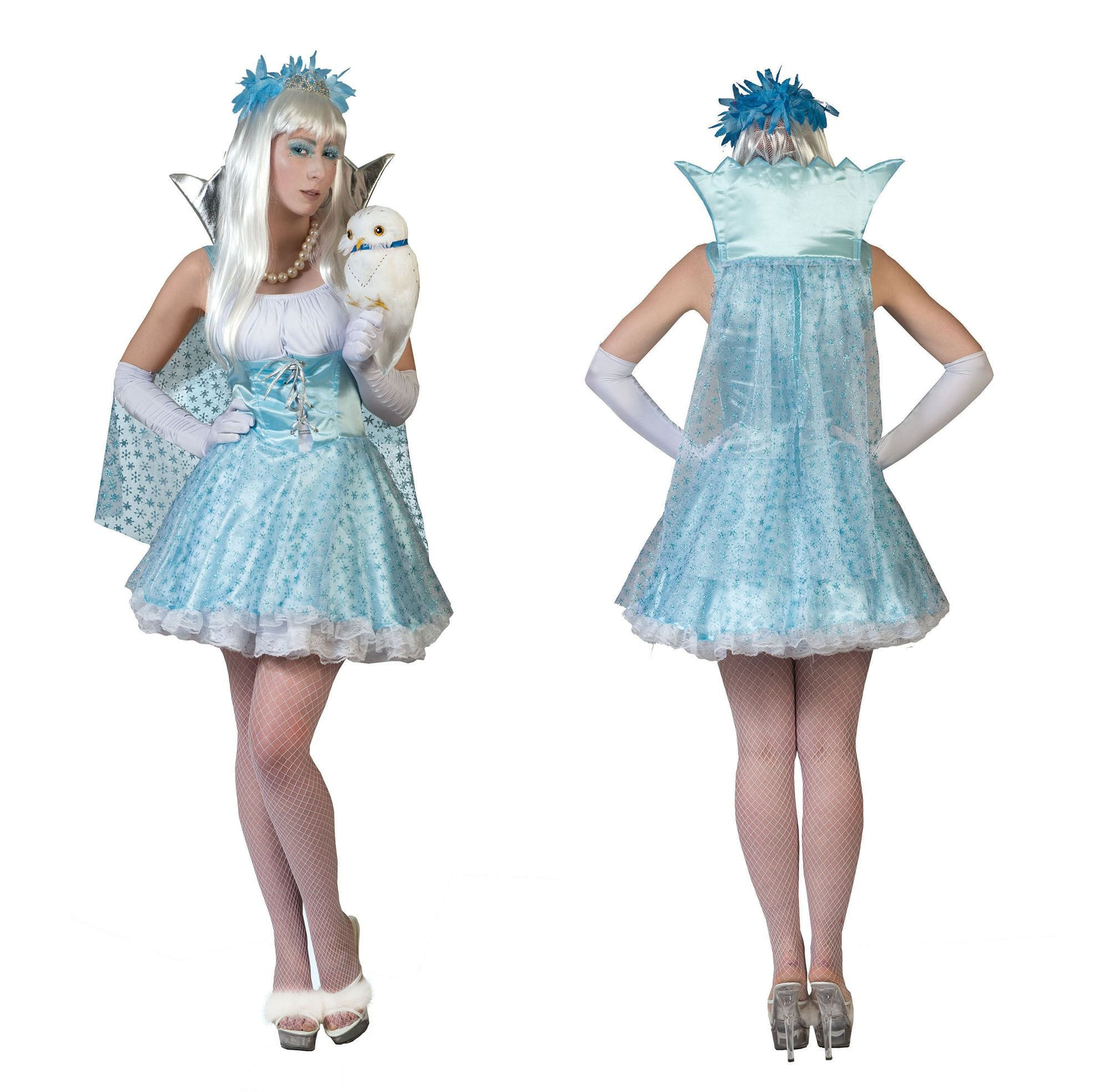 Alicia Uit De Toverwereld Vrouw Kostuum