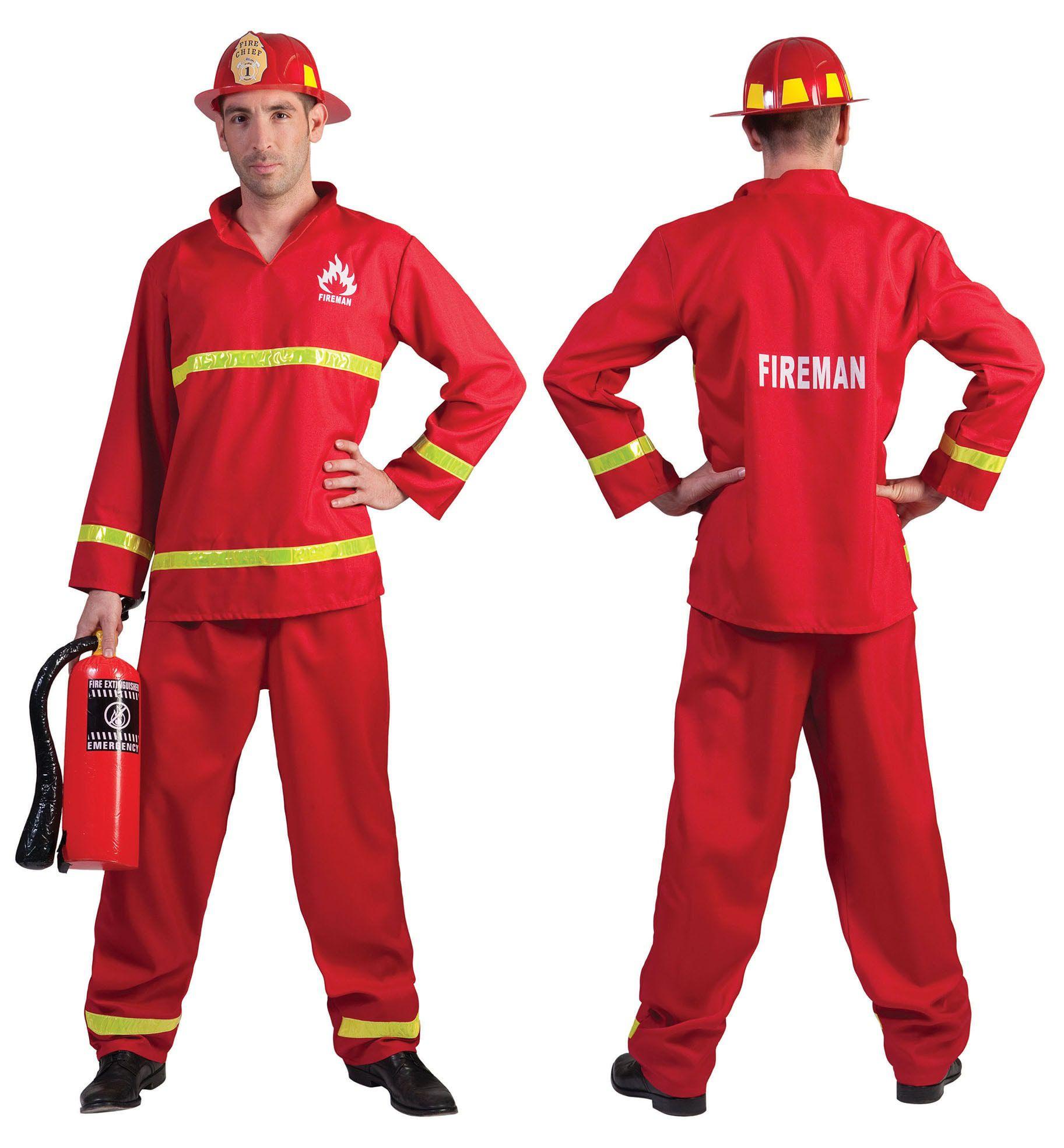 Brandweerheld Sam Man Kostuum