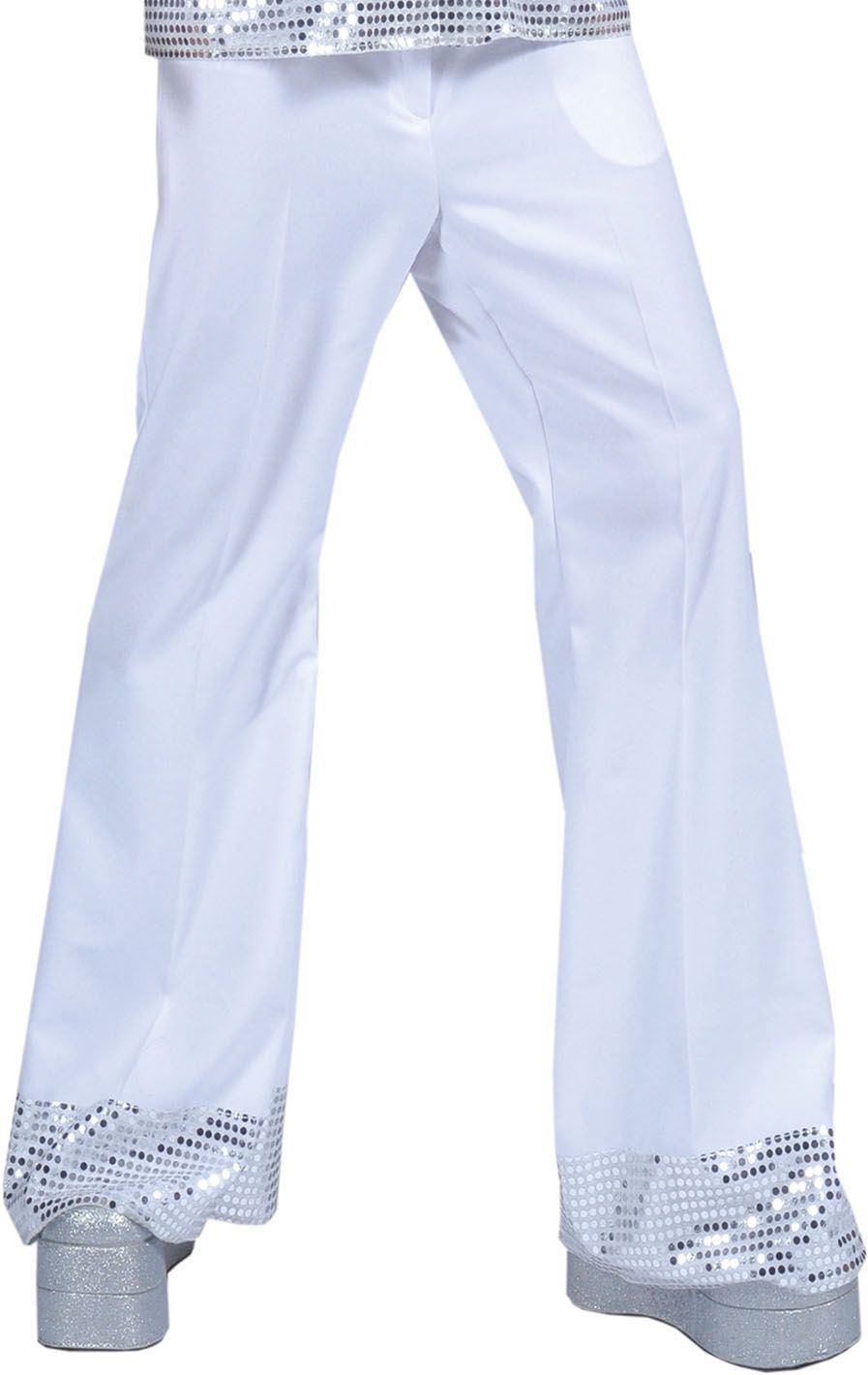 Disco Dancer Broek Wit Man