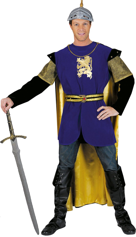 Moedig Hart Ridder Man Kostuum
