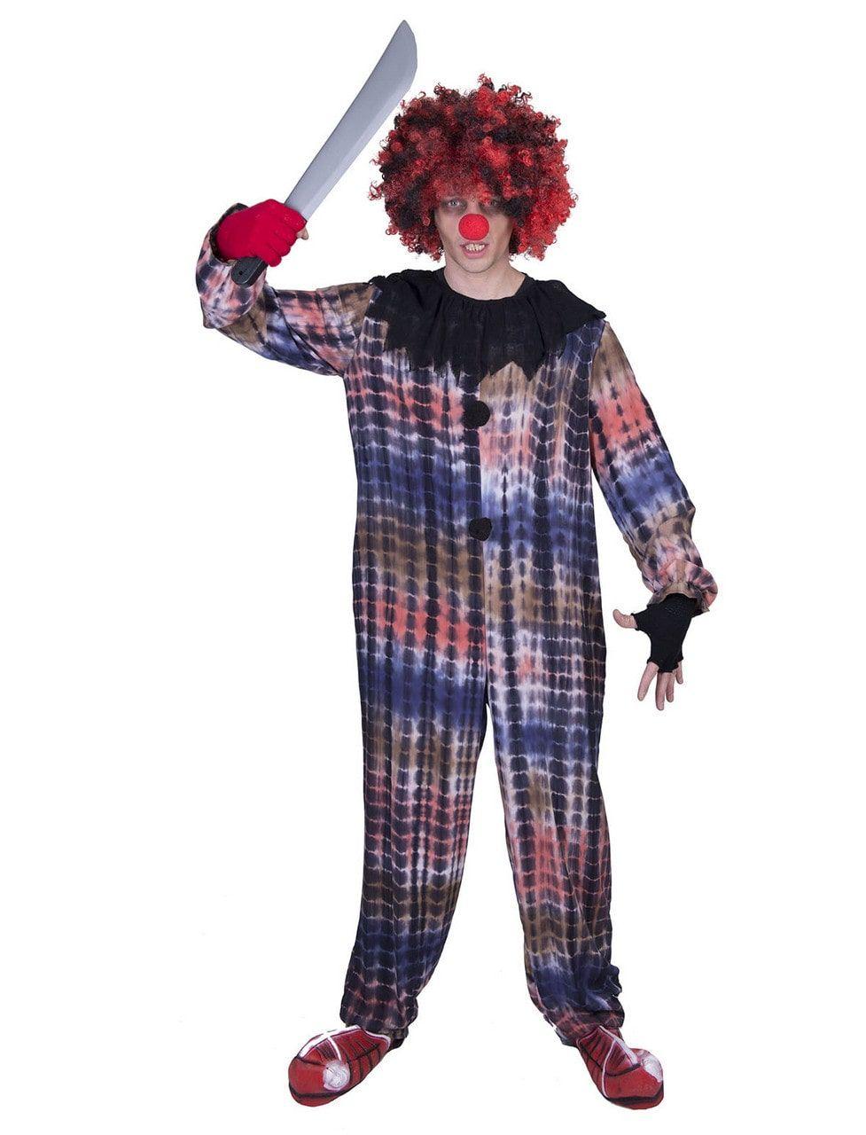 Clown Vol Leedvermaak Man Kostuum