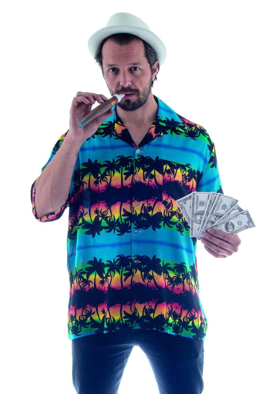 Hawaii Shirt Palmbomen Aloha Man