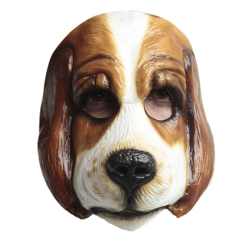 Masker Trouwe Viervoeter Hond