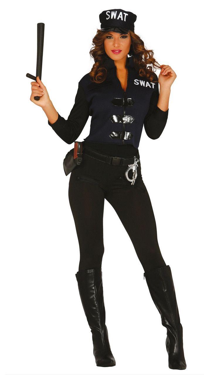 Zeer Speciale Agente Vrouw Kostuum