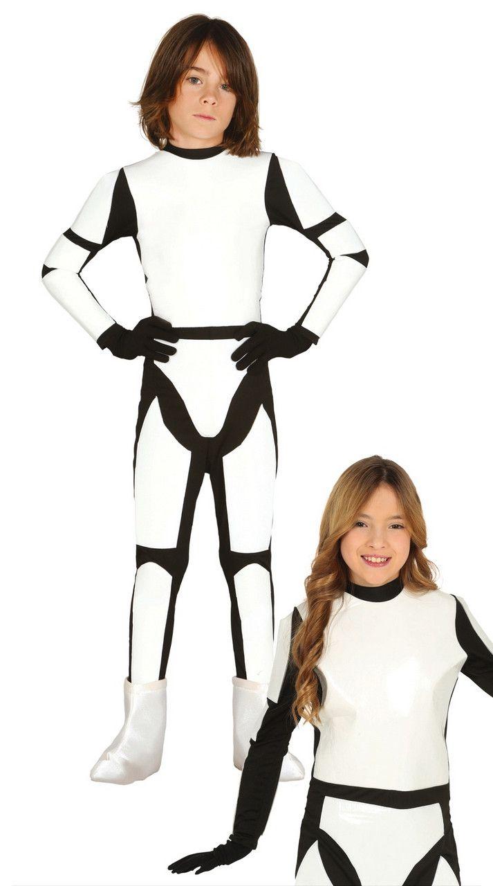 Space Soldaat Kind Kostuum