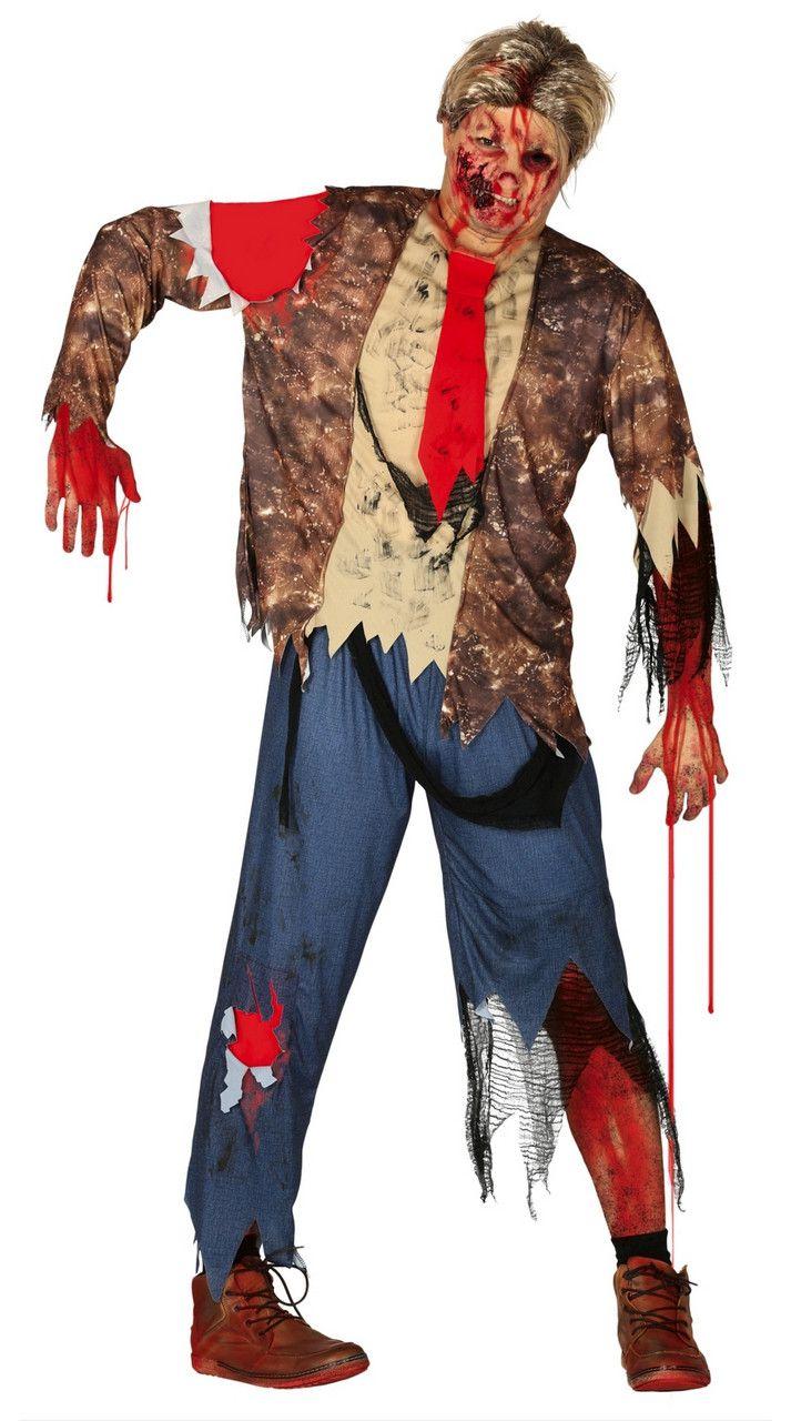 Kerkhof Zombie Open Graf Man Kostuum