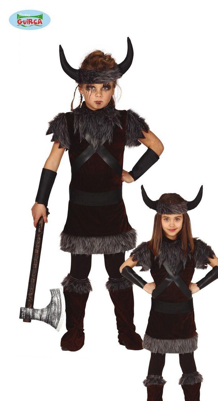 Vreselijk Wrede Viking Noordelijke IJszee Kind Kostuum