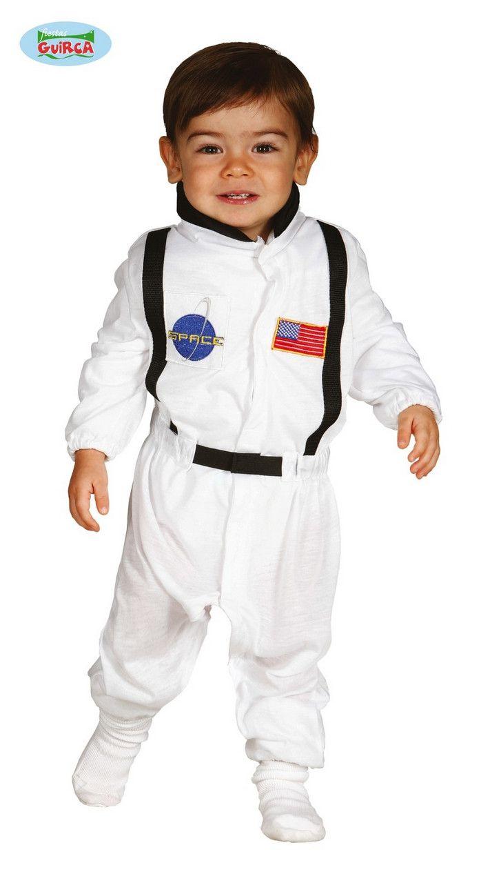 Gewichtloze Astronaut Maanreiziger Nasa Kind Kostuum