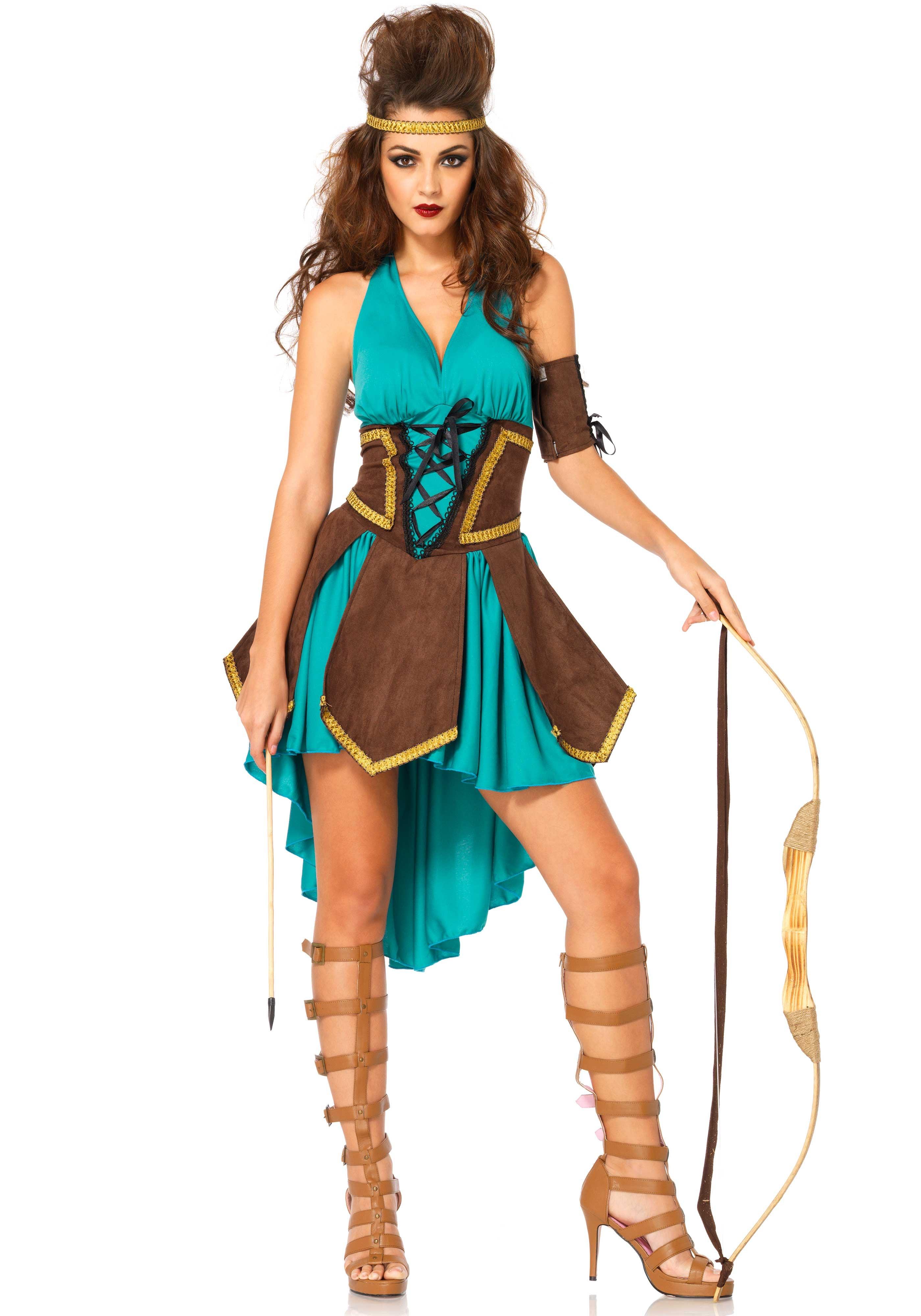 Sexy Keltische Strijder Jurk Vrouw