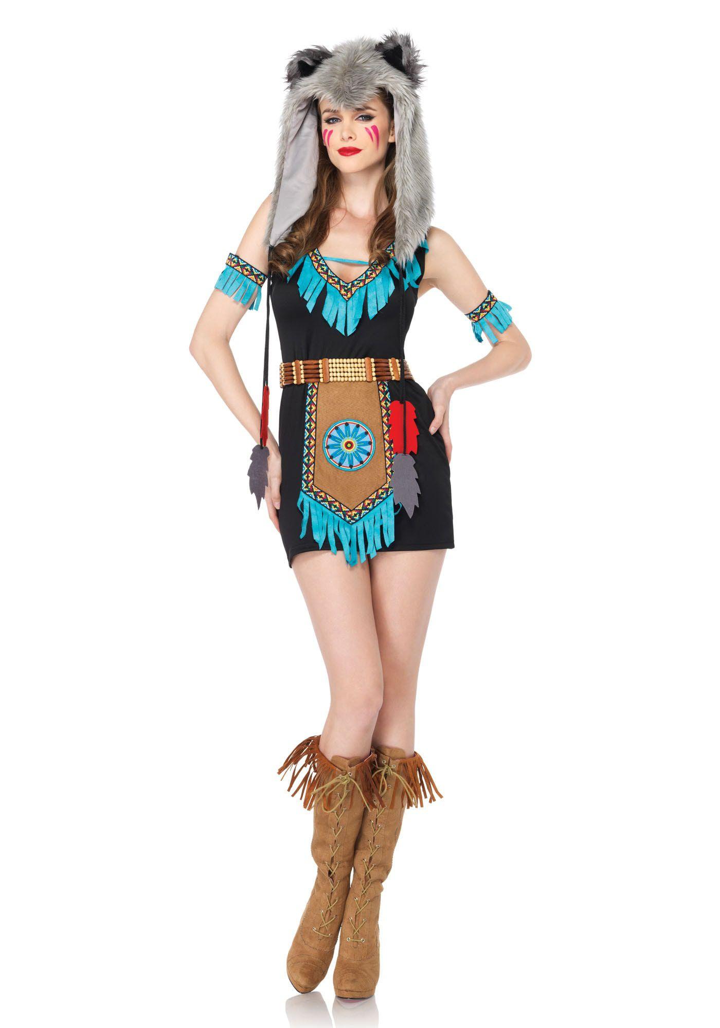 Sexy Fantasie Wolfmeisje Vrouw Kostuum