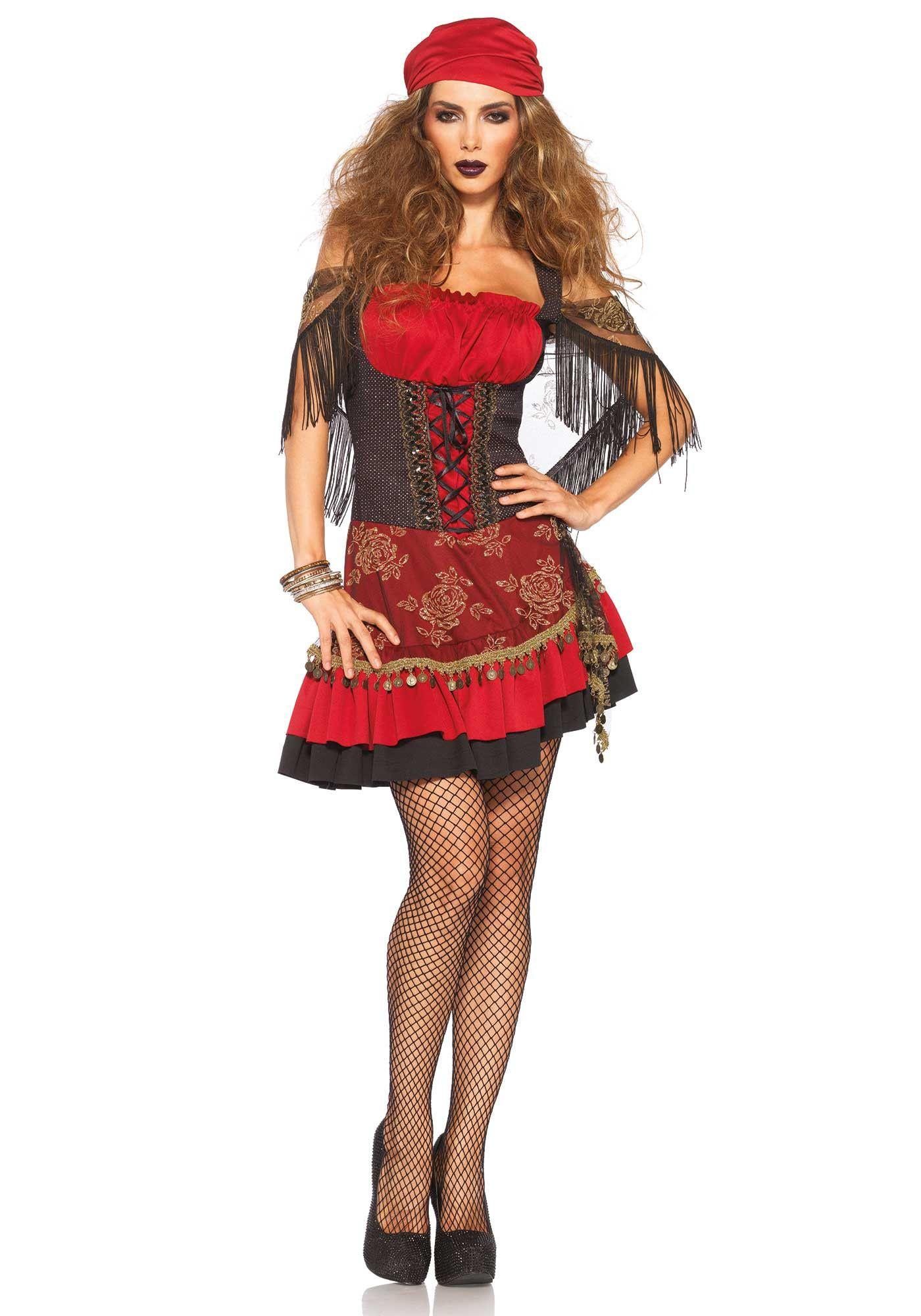 Zigeunerin Uit Stoute Droom Vrouw Kostuum