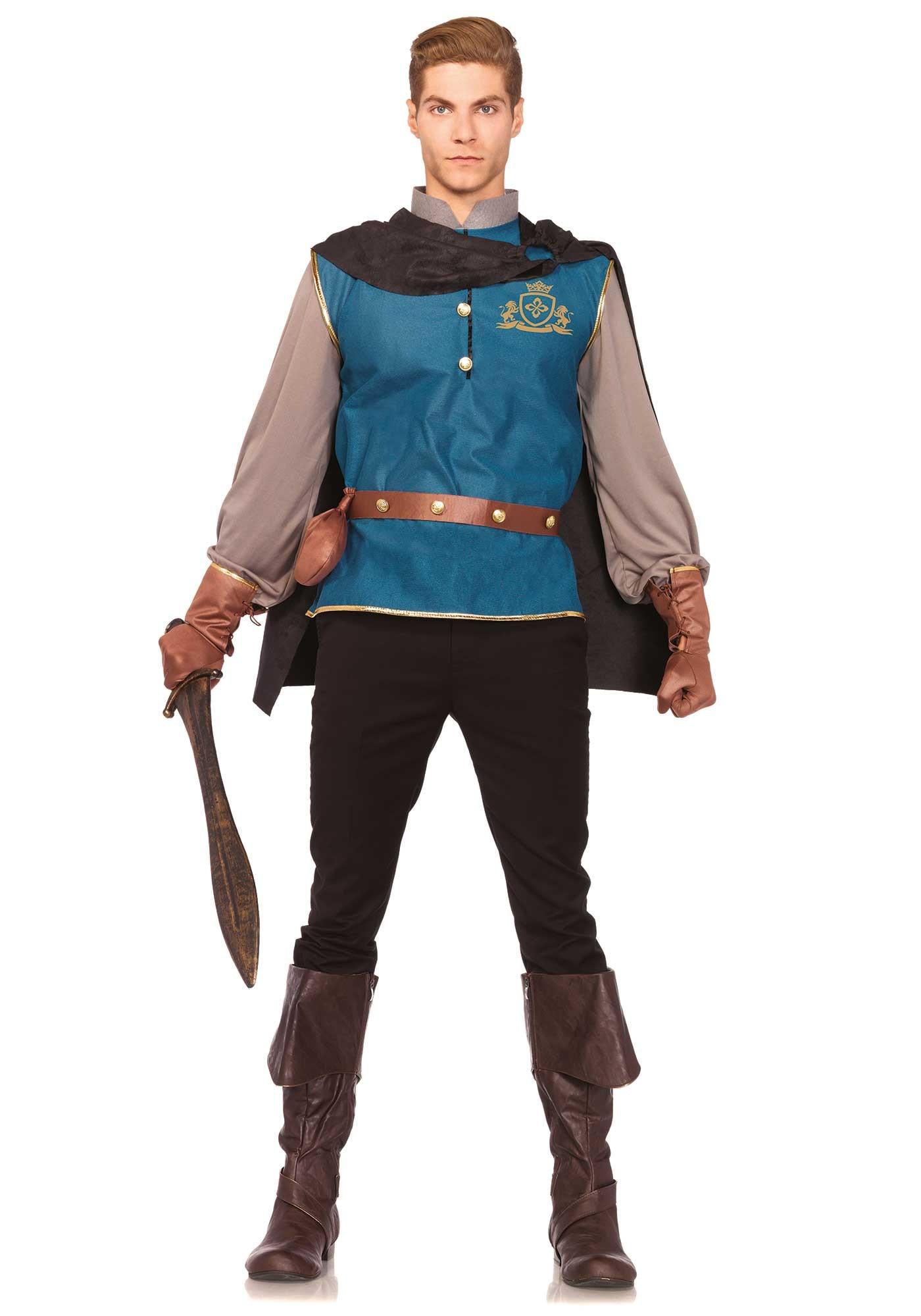 Klassieke Sprookjesprins Man Kostuum