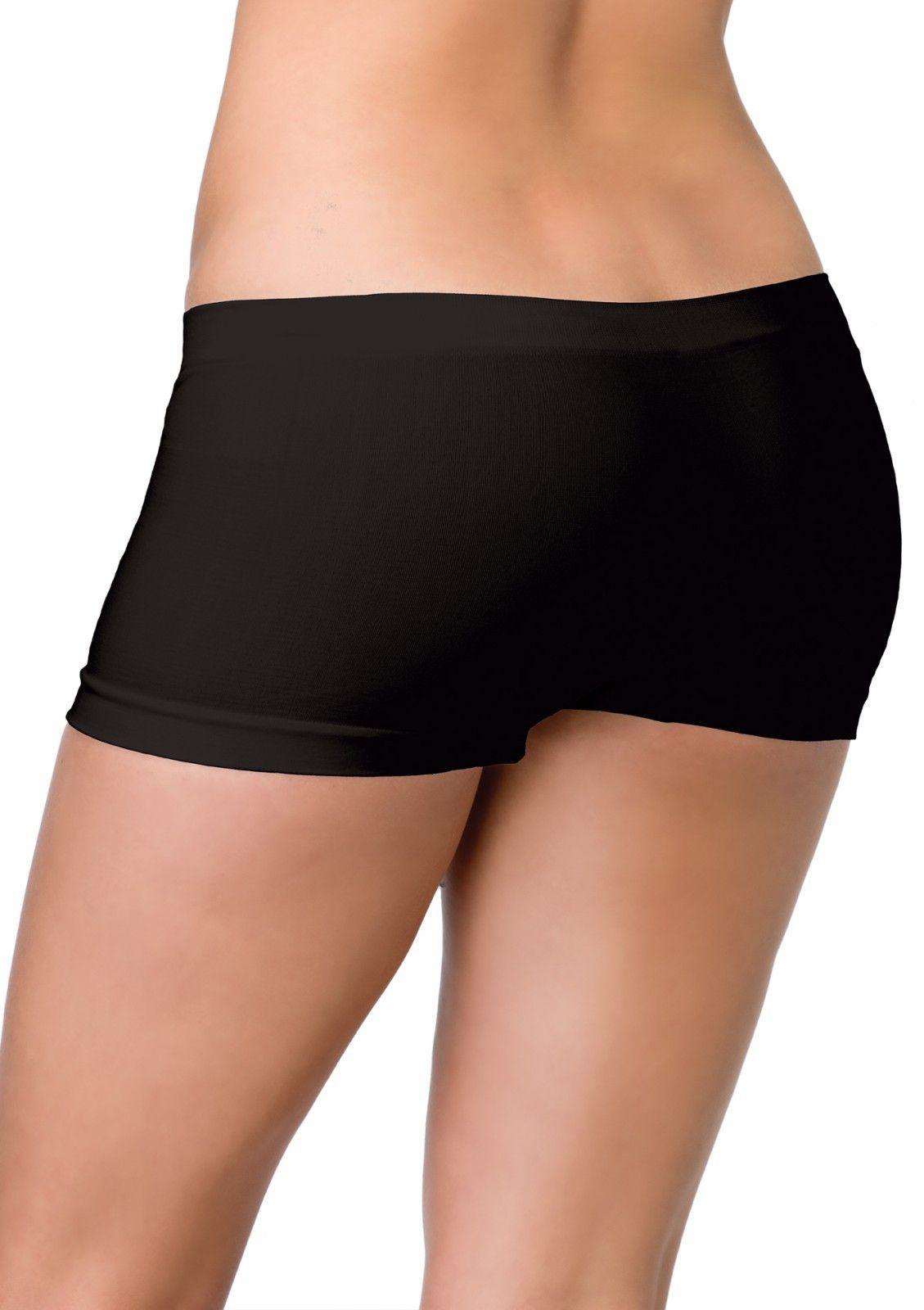 Naadloze Shorts Zwart Vrouw