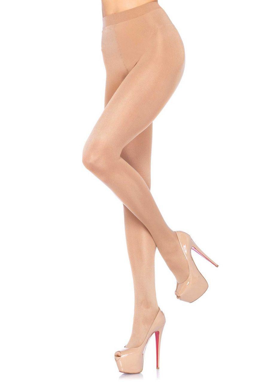 Elegante Panty Semi Transparant Beige