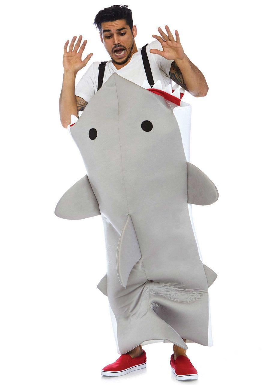 Shark Attack Jaws Haai Kostuum