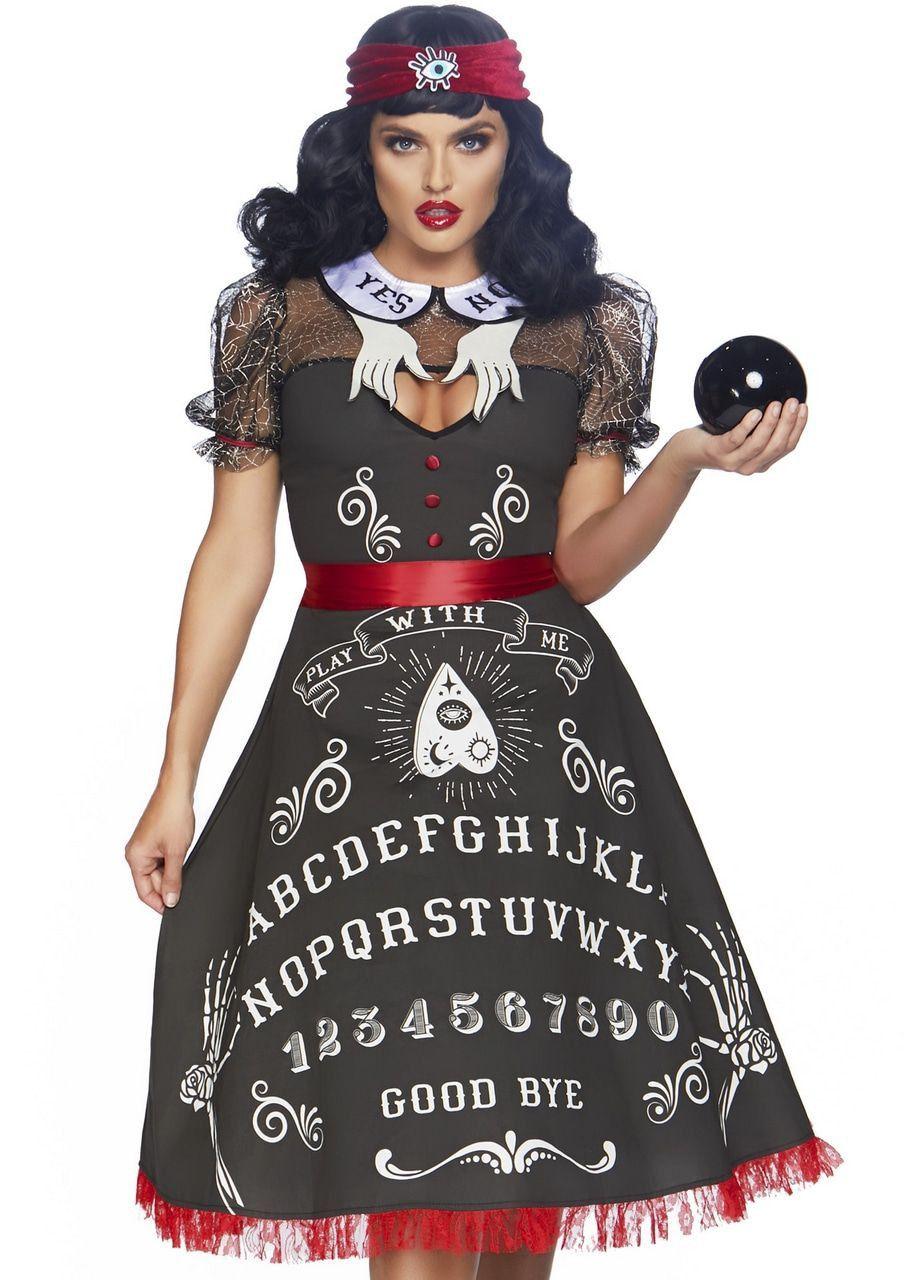 Occulte Ouijabord Waarzegster Vrouw Kostuum
