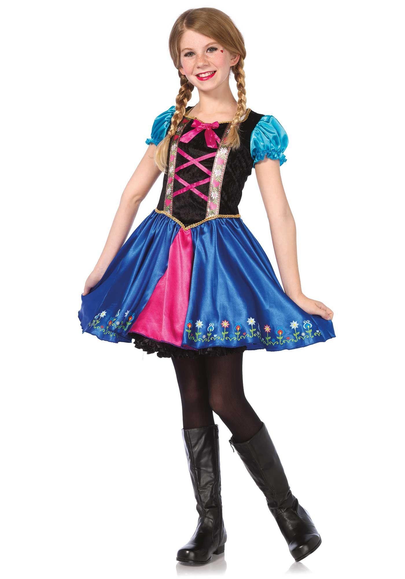Tiroler Prinses Meisjes Kostuum