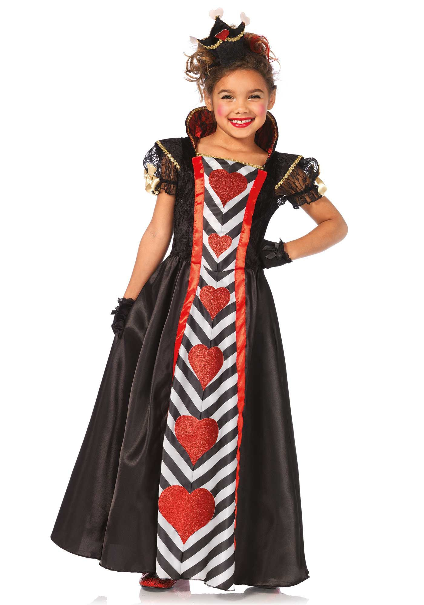 Meisjes Wonderland Koningin Jurk