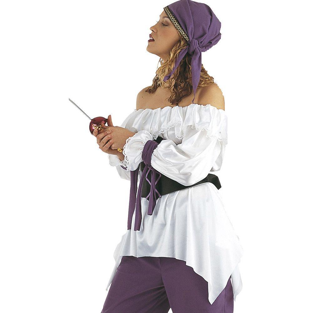 Hemd Brute Piraat Berdine Vrouw