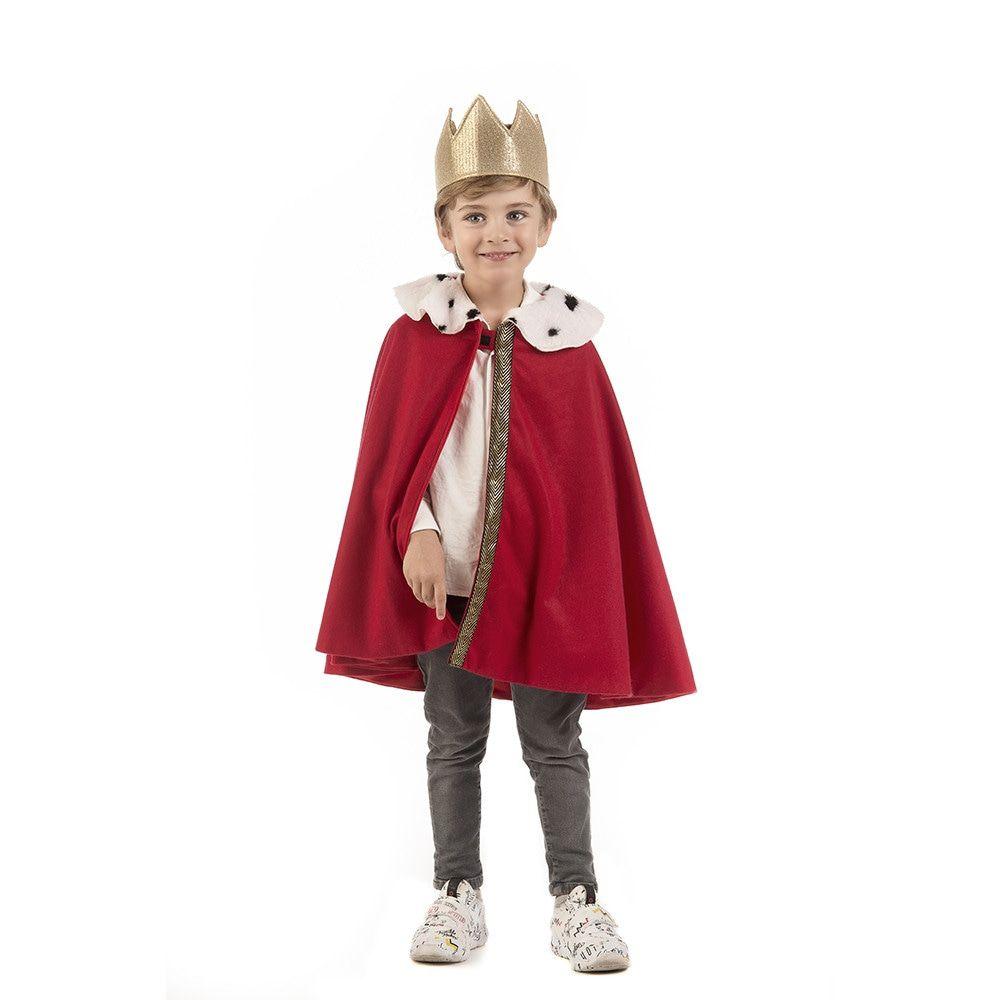 Hermelijnen Kronings Cape Willem Alexander Kind Kostuum