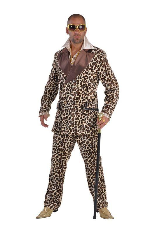 Pimp Panter Rosse Buurt Man Kostuum