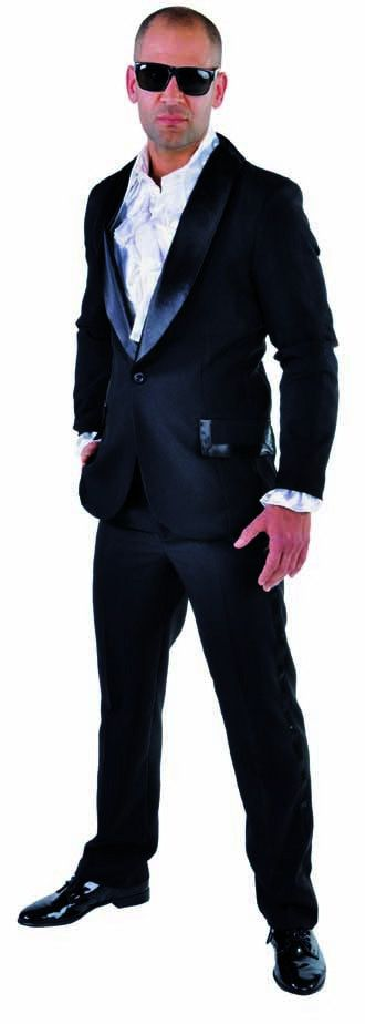 Smoking Casino Zwart Man Kostuum