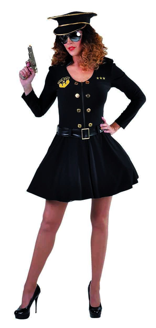 Politie Brigadier Inspecteur Angela Vrouw Kostuum