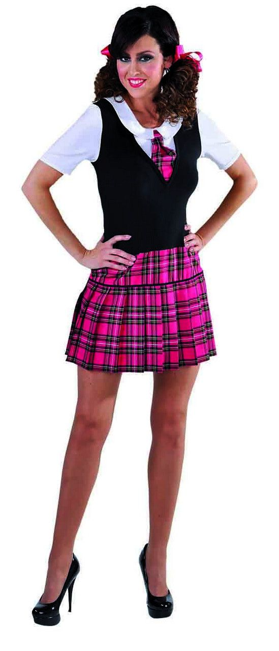 Brits Kostschool Uniform Patricia Vrouw