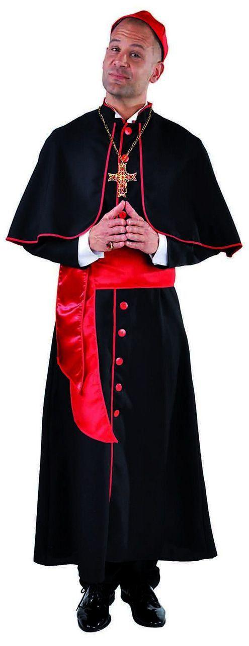 Kardinaal Richelieu Religieus Man Kostuum