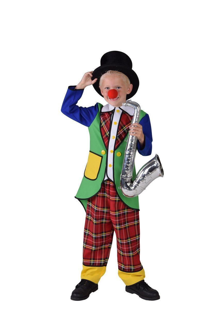 Pipo De Clown Circus Artiest Kind Kostuum