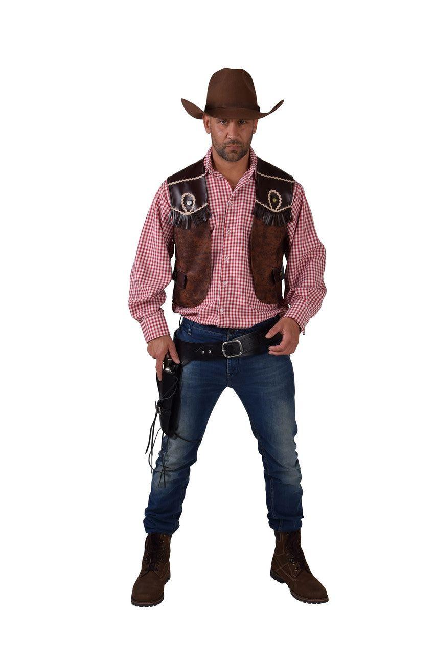 Cowboy Vest Wide Westen Butch Man