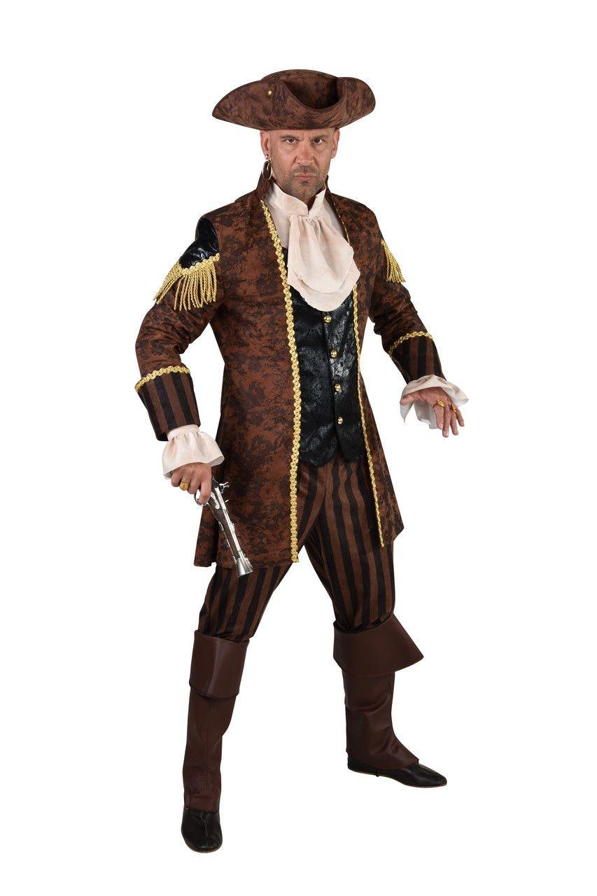 Piraat Rijk Aan Dukaten Man Kostuum