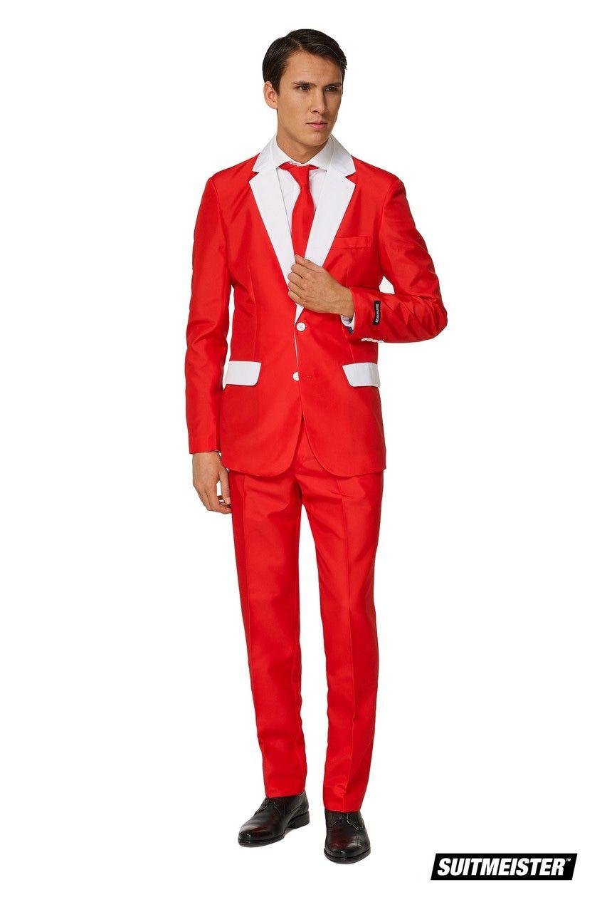 Incognito Kerstman Gaat Op Chic Kostuum