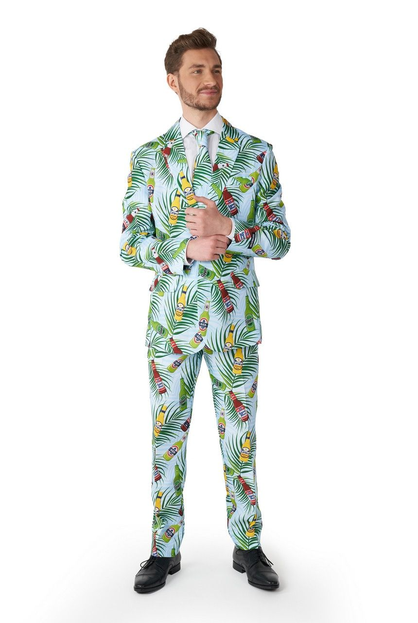 Tropical Beers Blue Corona Man Kostuum