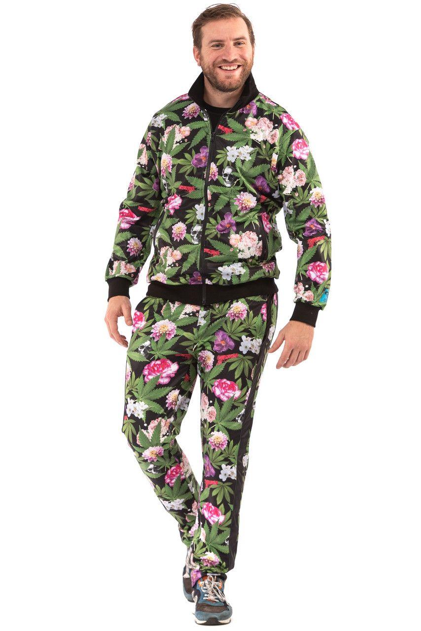 Pablo Discobar Festival Suit Marihuana Hawaii Kostuum
