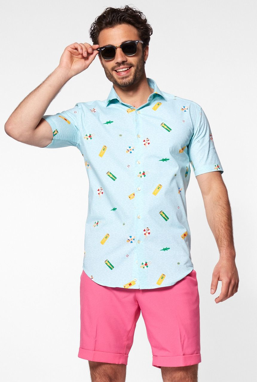 Jump In The Pool Life Blouse Man