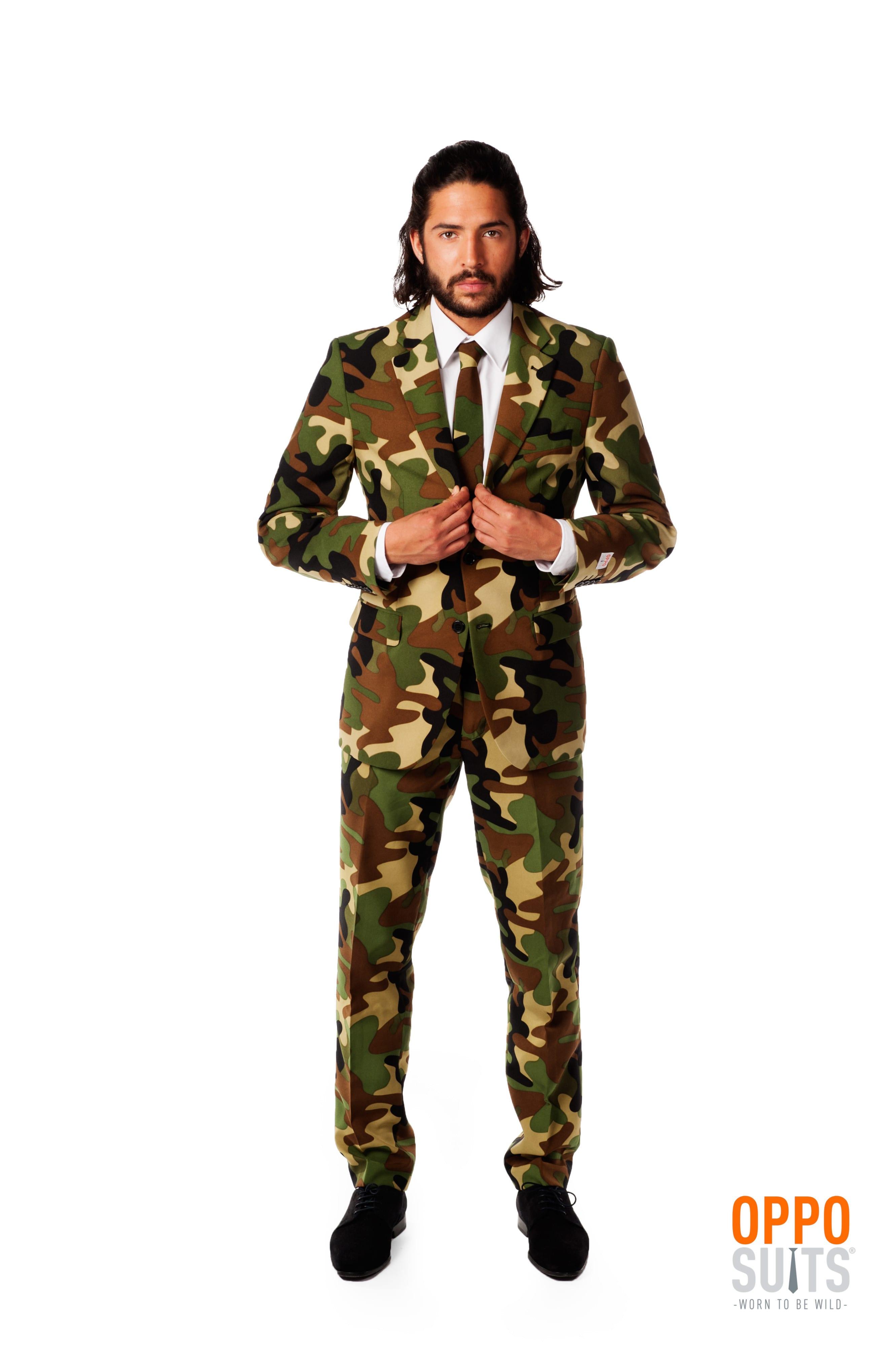 Commando Army Opposuit Kostuum