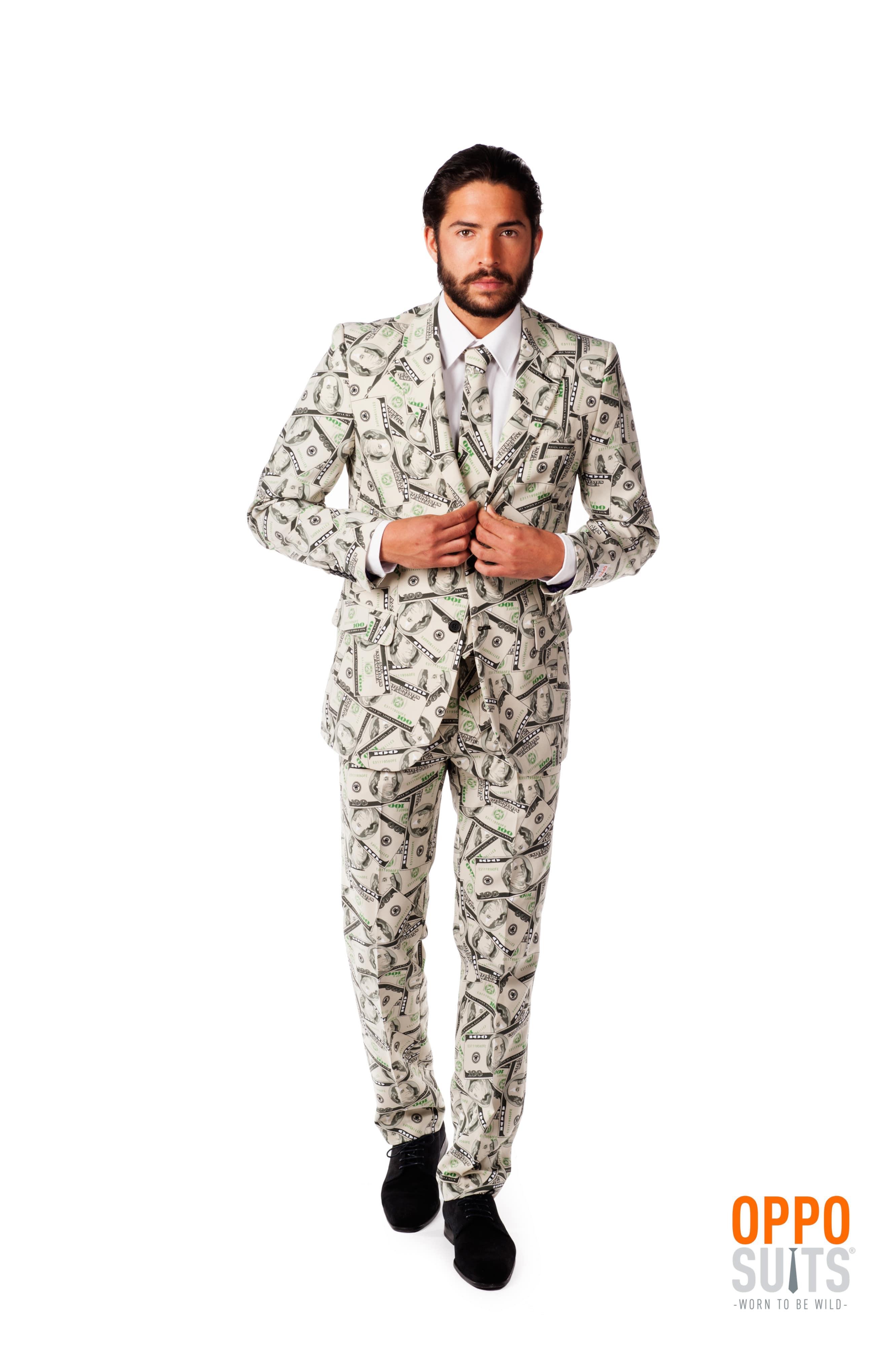 Cashanova Big Money Pimp Opposuit Kostuum Man