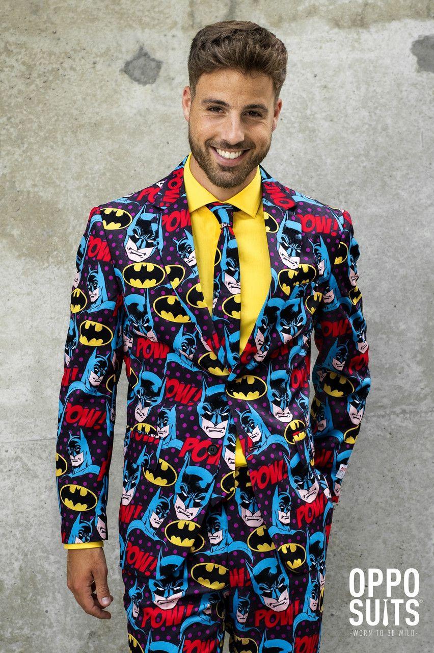 The Dark Knight Comics Batman Strip Kostuum