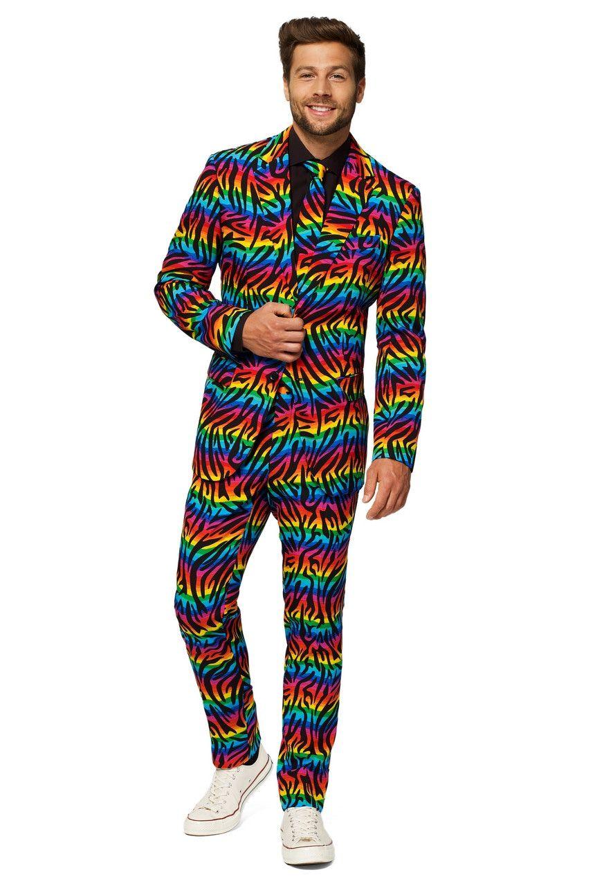 Wild Rainbow Man Kostuum