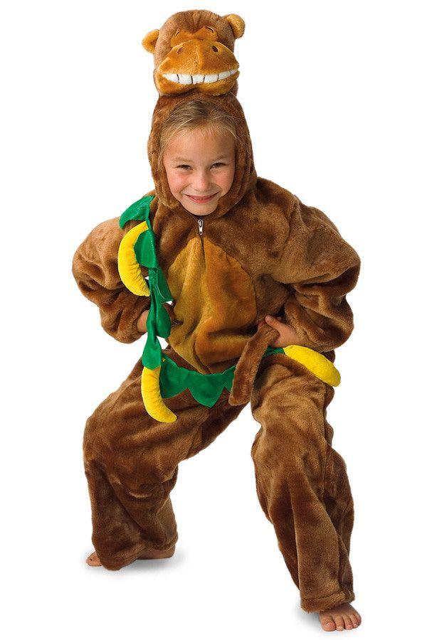 Gordon De Gorilla Met Bananen Kind Kostuum