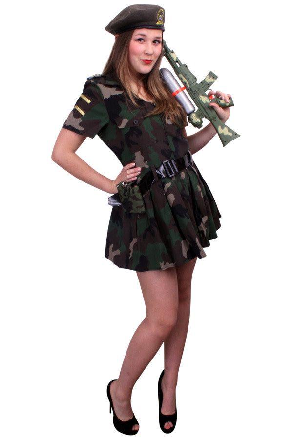 Hot Henriette Commando Jurk Vrouw