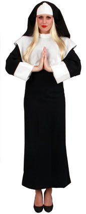 Katholieke Non Gabardine Met Koord Vrouw Kostuum