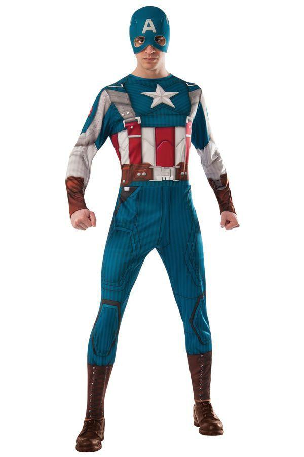 Captain America Retro Suit Man Kostuum