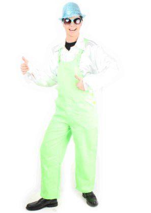Tuinbroek Fluo Groen Kostuum